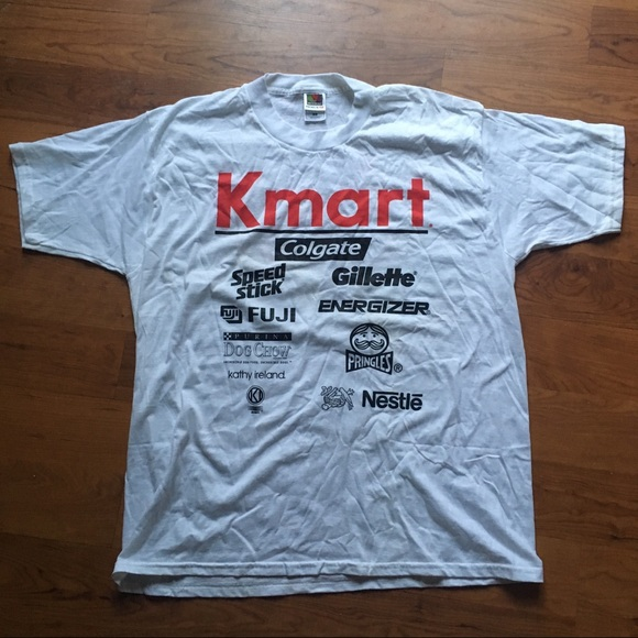 4f334960b 1998 vintage Kmart racecar shirt. M_5b2143baa31c3303b6ccdfa7